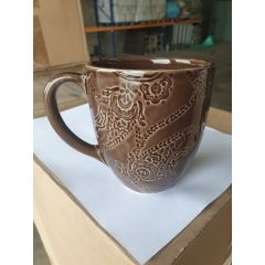 "Mug chocolat ""Paisley"""
